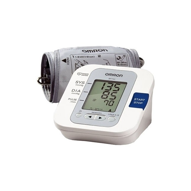 Blood Pressure Monitor. 2 User, 100 Memory, With Cuff