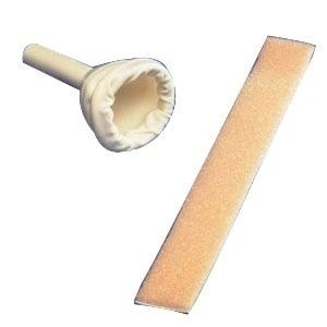 Catheters, Condom Catheter, Non Adhering, Large, 35mm, Latex