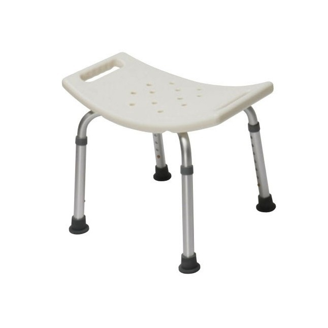 Bath Chair w/o Back, 250lb Capacity