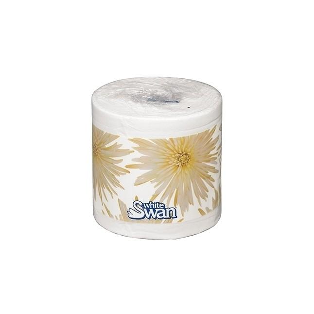 "Bath Tissue, White Swan, 1-Ply, 4.2""x4.09"""