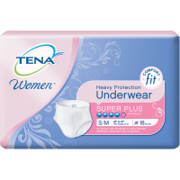 TENA Protective Underwear Women Super Plus-Small/Medium