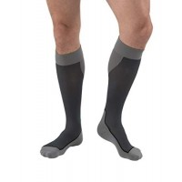JOBST, Sport Knee High, 20-30 mmHg, Dark Grey, Large