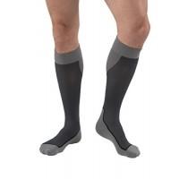 JOBST, Sport Knee High, 20-30 mmHg, Dark Grey, X-Large
