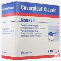 Wound Care, Coverplast Classic Fabric Bandages, 2.2cmx7.2cm