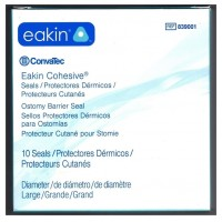 """Ostomy-Cohesive Seal, Eakin , 4"""" X 4"""", 98mm, #839001"""