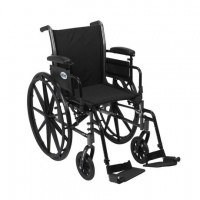 Wheelchair, Desk Arms, Removable Footrests, Drive SSP218DDDA-SF