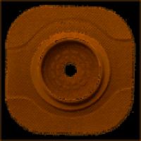 Ostomy-Flange, NewImage CeraPlus, Convex, Pre-cut, 25mm, GREEN