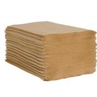 Single Fold Towels, Esteem Brown