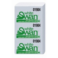 Single Fold Towels, White Swan