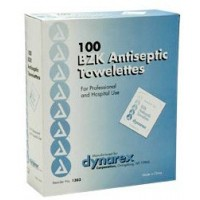 Antiseptic Wipes Benzalkonium